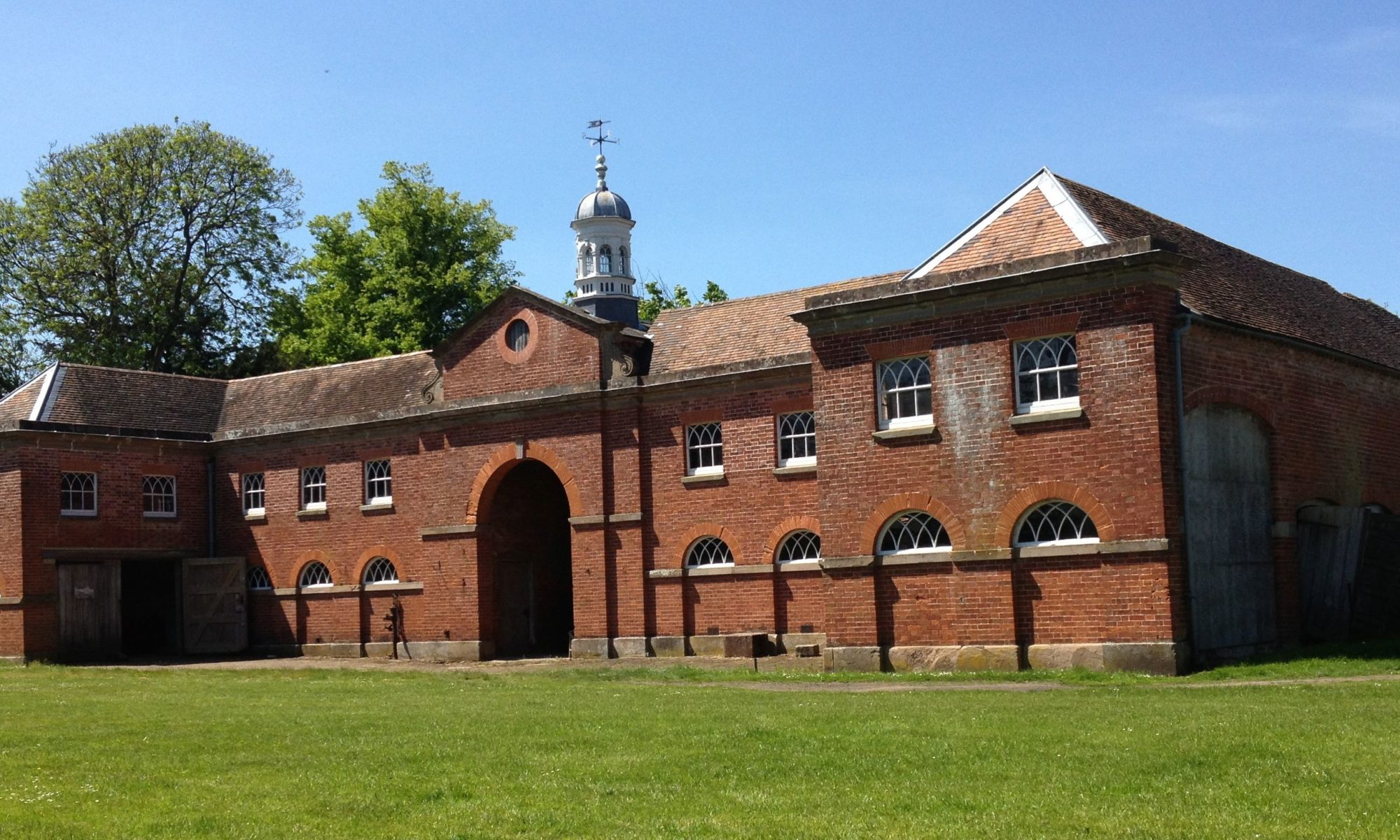 Partially Restored Stable Block