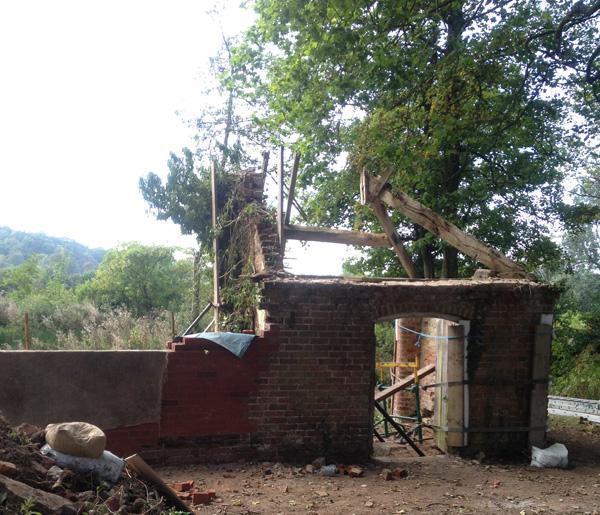 Bath House Progress