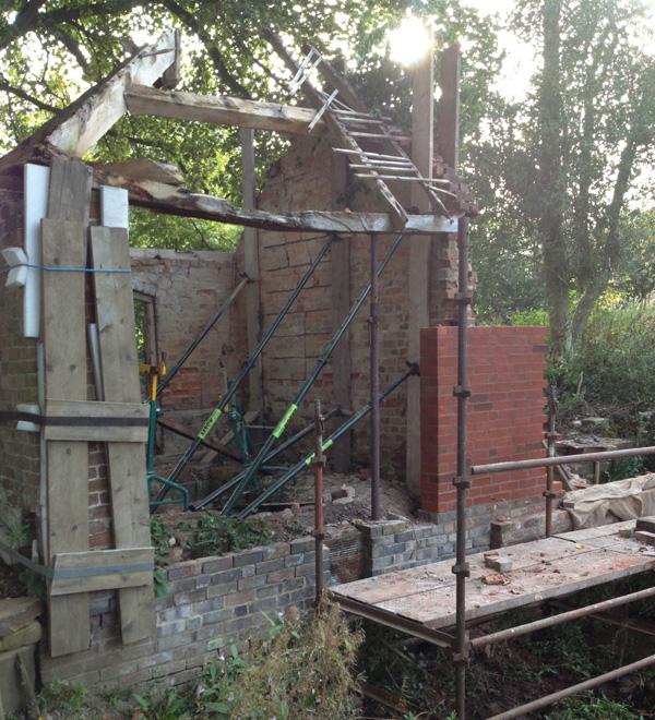 Bath House Starting Work