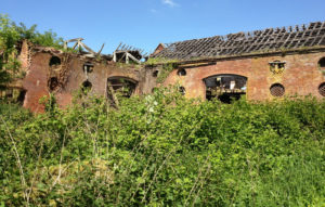 Back of The Stables in need of restoration