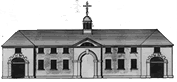Four Ashes Stable Block Drawing